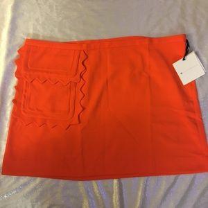 Victoria Beckham For Target Scallop Mini Skirt